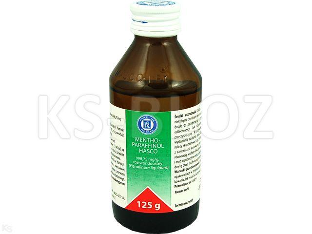 Mentho-Paraffinol Hasco interakcje ulotka roztwór doustny  125 g