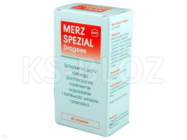 Merz Spezial Dragees interakcje ulotka tabletki drażowane  60 tabl.