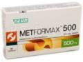 Metformax 500 interakcje ulotka tabletki 0,5 g 30 tabl.