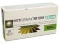 Metformax SR 500 interakcje ulotka tabletki o przedłużonym uwalnianiu 0,5 g 30 tabl.