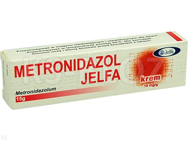 Metronidazol Jelfa interakcje ulotka krem 0,01 g/g 15 g
