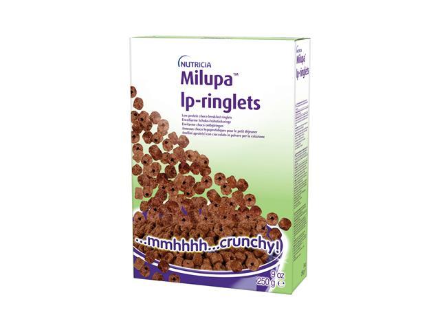 MILUPA LP- Ringlets (kółeczka czekol) interakcje ulotka   250 g