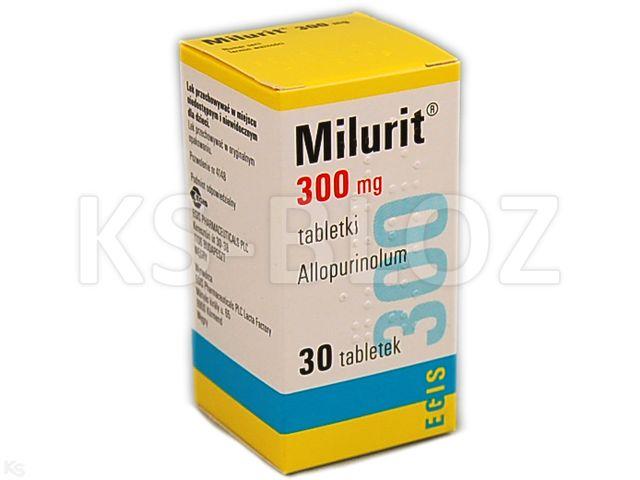 Milurit interakcje ulotka tabletki 0,3 g 30 tabl.