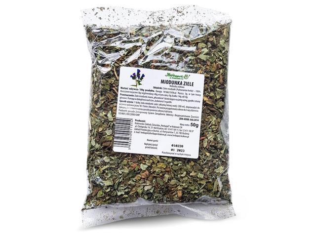 MIODUNKA ZIELE Herbatka ziołowa interakcje ulotka   50 g