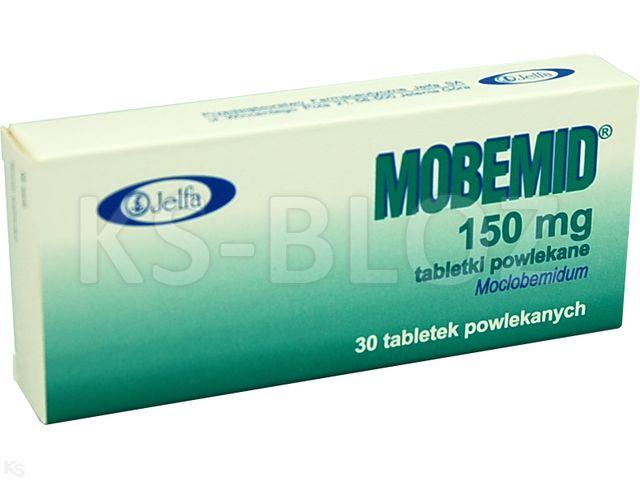 Mobemid interakcje ulotka tabletki powlekane 0,15 g 30 tabl.