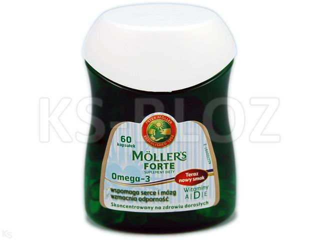 Mollers Forte interakcje ulotka kapsułki  60 kaps.