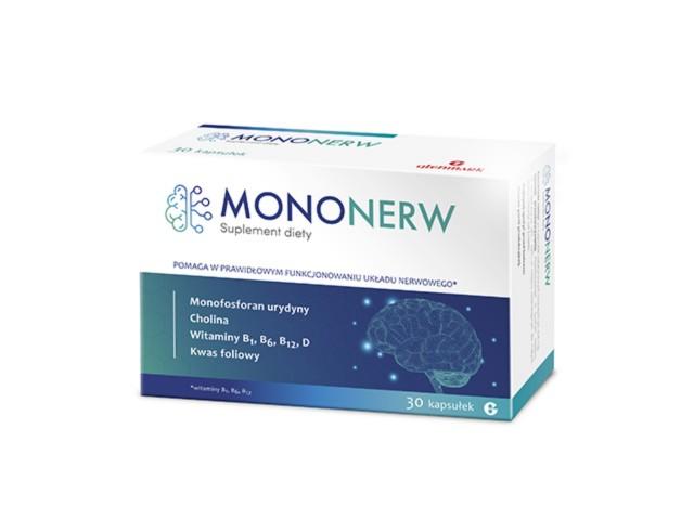 Mononerw interakcje ulotka kapsułki  30 kaps.