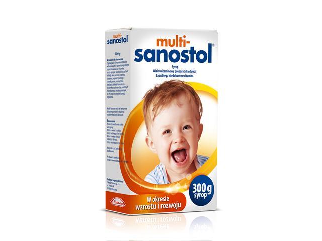 Multi-Sanostol interakcje ulotka syrop  600 g
