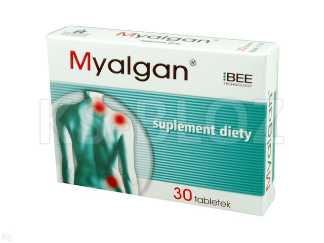 Myalgan interakcje ulotka tabletki  30 tabl.
