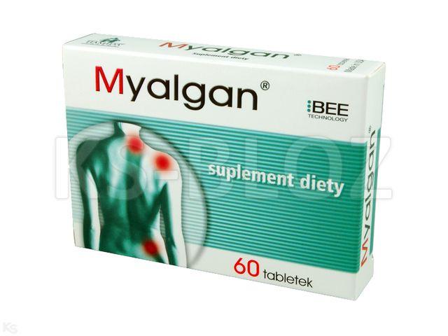 Myalgan interakcje ulotka tabletki  60 tabl.