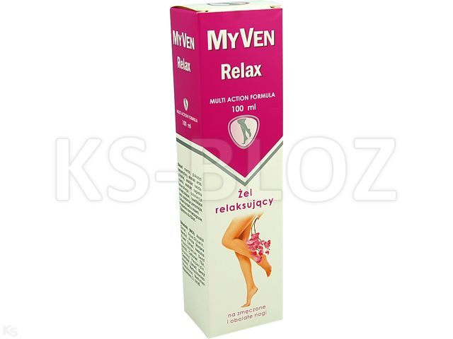 MyVen Relax  Żel relaksujący interakcje ulotka   100 ml | tuba