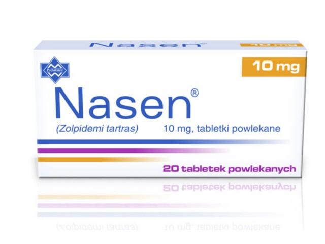 Nasen interakcje ulotka tabletki powlekane 0,01 g 20 tabl.