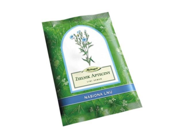 Nasiona Lnu interakcje ulotka zioła do zaparzania 1 g/g 250 g