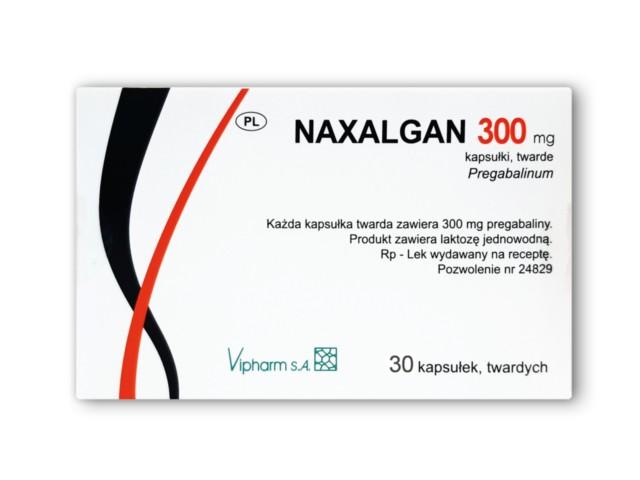 Naxalgan interakcje ulotka kapsułki twarde 0,3 g 30 kaps.
