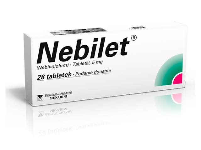 Nebilet interakcje ulotka tabletki 5 mg 28 tabl.