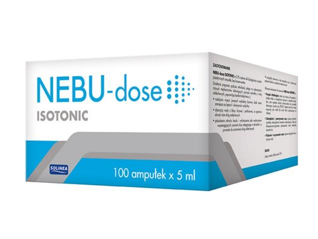 Nebu-dose Isotonic interakcje ulotka   100 amp. po 5 ml