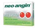 Neo-Angin b/cukru interakcje ulotka tabletki do ssania 1,2mg+0,6mg+5,72mg 24 tabl.