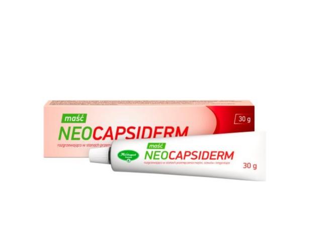 NeoCapsiderm interakcje ulotka maść  30 g