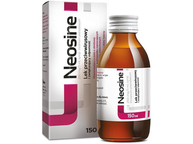 Neosine interakcje ulotka syrop 0,25 g/5ml 150 ml