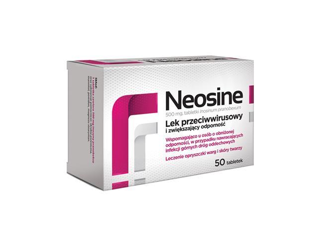 Neosine interakcje ulotka tabletki 0,5 g 50 tabl.