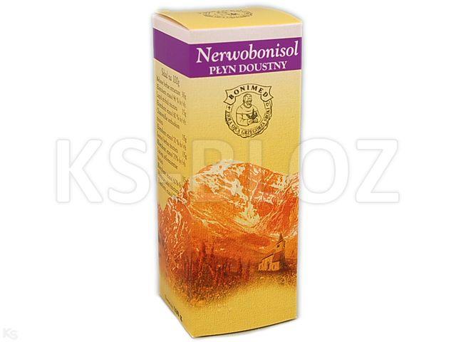 Nerwobonisol interakcje ulotka płyn doustny  100 g