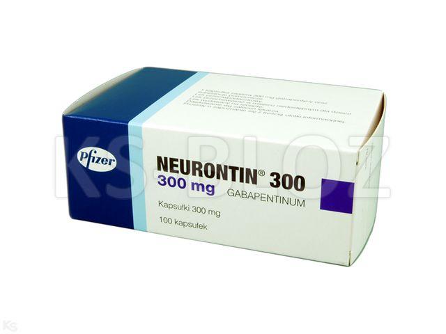 Neurontin 300 interakcje ulotka kapsułki twarde 0,3 g 100 kaps.