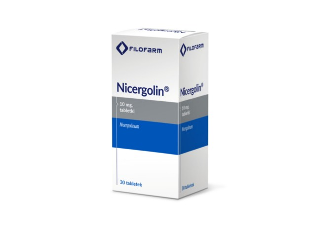 Nicergolin interakcje ulotka tabletki 0,01 g 30 tabl.