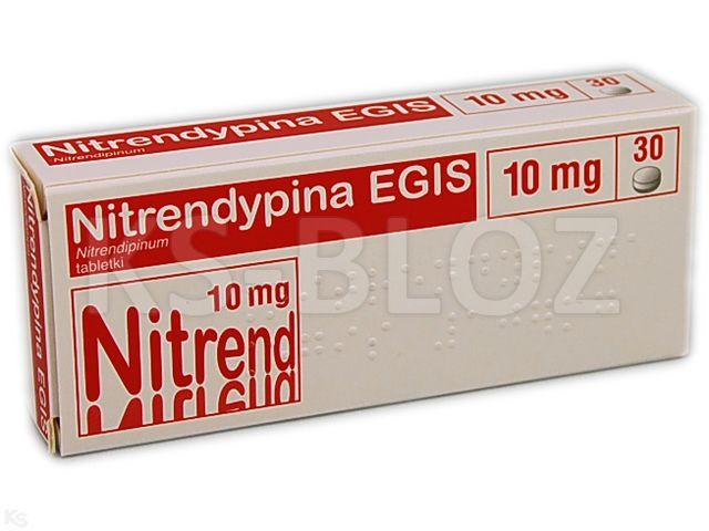 Nitrendypina EGIS interakcje ulotka tabletki 0,01 g 30 tabl.