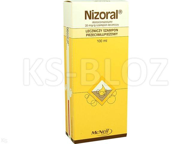 Nizoral interakcje ulotka szampon leczniczy 0,02 g/g 100 ml