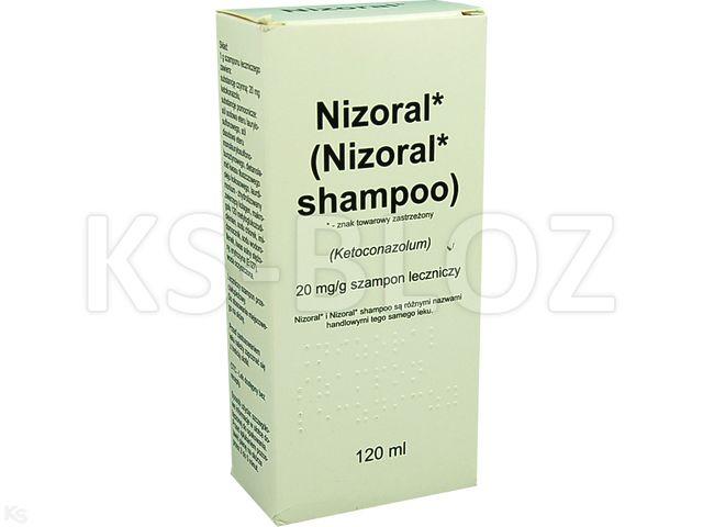 Nizoral interakcje ulotka szampon leczniczy 0,02 g/g 120 ml