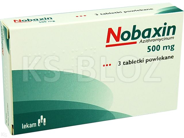 Nobaxin interakcje ulotka tabletki powlekane 0,5 g 3 tabl.