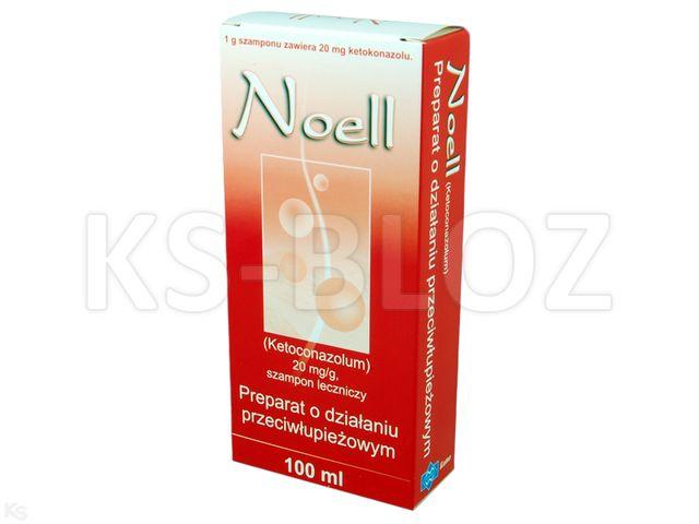 Noell interakcje ulotka szampon leczniczy 0,02 g/0,1ml 100 ml