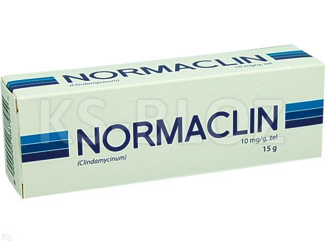 Normaclin interakcje ulotka żel 0,01 g/g 15 g