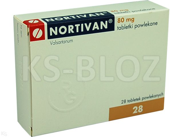 Nortivan interakcje ulotka tabletki powlekane 0,08 g 28 tabl.