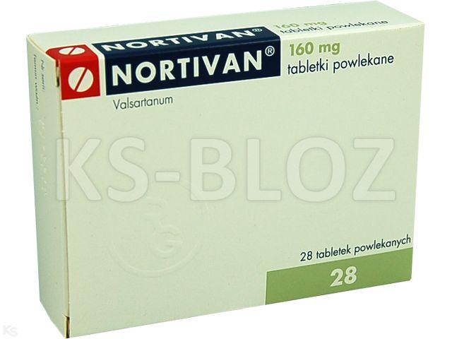Nortivan interakcje ulotka tabletki powlekane 0,16 g 28 tabl. | 2 blist.po 14 szt.