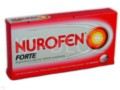 Nurofen Forte interakcje ulotka tabletki powlekane 0,4 g 12 tabl.