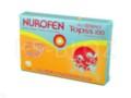 Nurofen Topss interakcje ulotka tabletki ulegające rozpadowi w jamie ustnej 0,1 g 12 tabl.