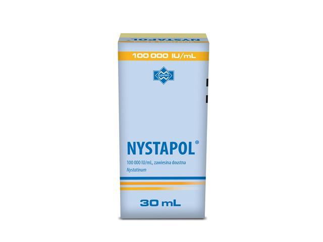 Nystapol interakcje ulotka zawiesina doustna 100 000 I.U./ml 30 ml