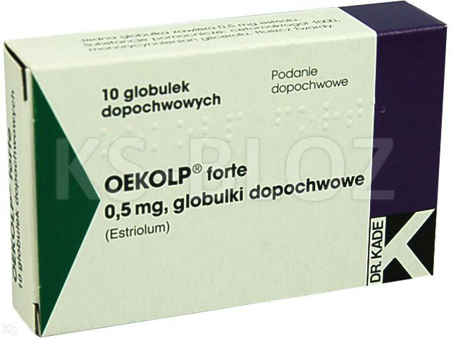 Oekolp forte interakcje ulotka globulki dopochwowe 0,5 mg 10 glob.