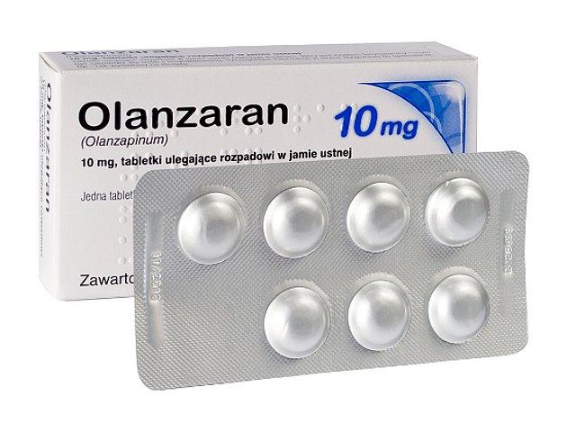 Olanzaran interakcje ulotka tabletki ulegające rozpadowi w jamie ustnej 0,01 g 28 tabl.