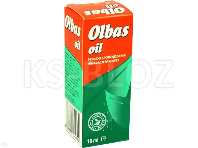 Olbas Oil interakcje ulotka płyn do sporzadzania inhalacji parowej  10 ml