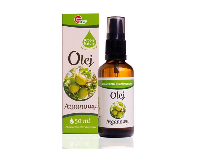 Olej arganowy interakcje ulotka olej  50 ml