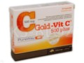 Olimp Gold-Vit.C 500 Plus Pure Way interakcje ulotka kapsułki  30 kaps.