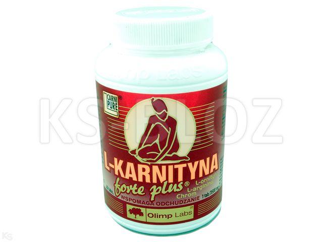 Olimp L-Karnityna Forte Plus diet.śr.spoż.sm.wiśniowy interakcje ulotka tabletki do ssania  40 tabl.