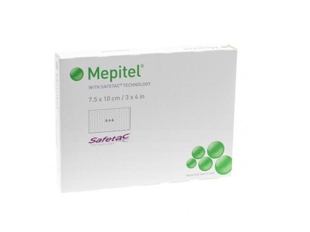 Opatr.specj. MEPITEL jałowy 7,5cmx10cm interakcje ulotka   1 szt.