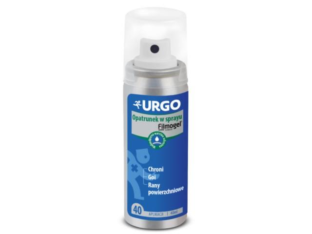 Opatr. URGO Opatrunek w sprayu interakcje ulotka   40 ml
