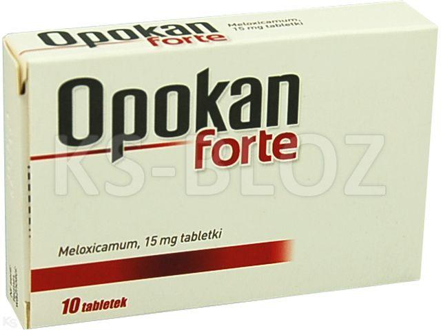 Opokan forte interakcje ulotka tabletki 0,015 g 10 tabl.