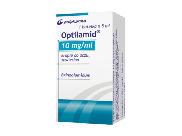 Optilamid interakcje ulotka krople do oczu, zawiesina 0,01 g/ml 1 but. po 5 ml