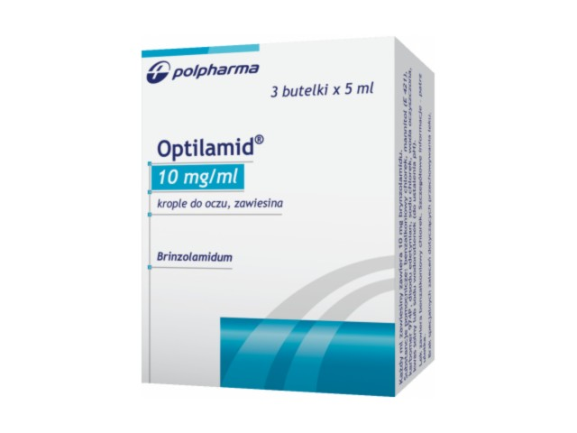 Optilamid interakcje ulotka krople do oczu, zawiesina 0,01 g/ml 3 but. po 5 ml