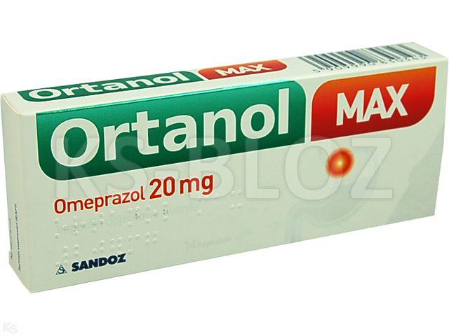 Ortanol Max interakcje ulotka kapsułki dojelitowe 0,02 g 14 kaps.